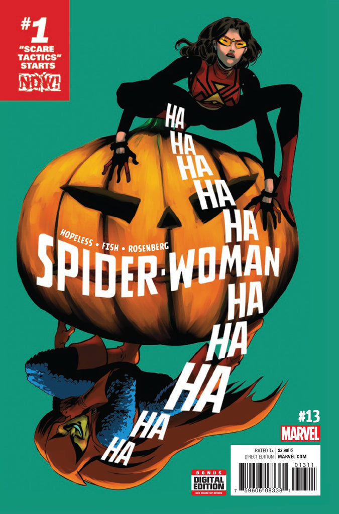 SPIDER-WOMAN #13 NOW COVER