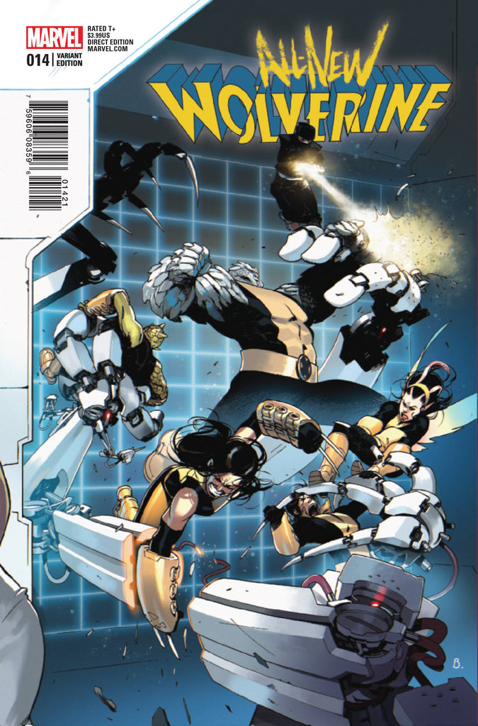 ALL NEW WOLVERINE #14 BENGAL CONNECTING B VAR COVER