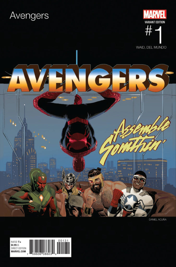 AVENGERS #1 ACUNA HIP HOP VAR NOW COVER