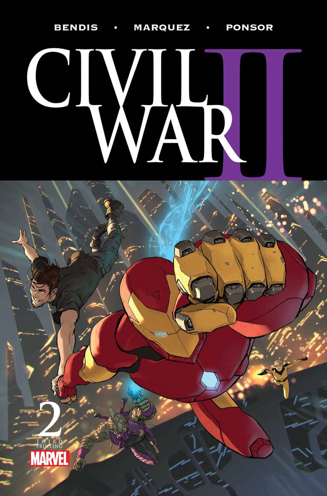 CIVIL WAR II #2 (OF 8) 3RD PTG DJURDJEVIC VARIANT COVER