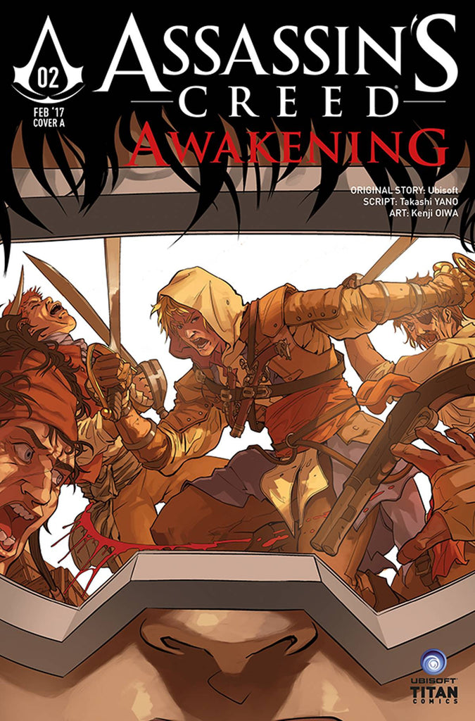 ASSASSINS CREED AWAKENING #2 (OF 6) CVR C AGGS COVER