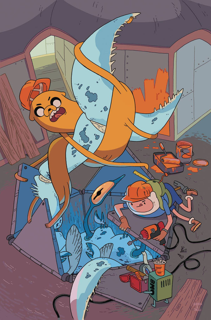 ADVENTURE TIME #59 COVER