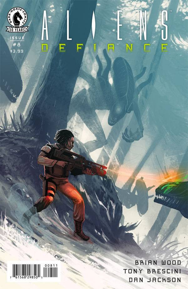 ALIENS DEFIANCE #8 COVER