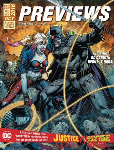 PREVIEWS #339 DECEMBER 2016 COVER