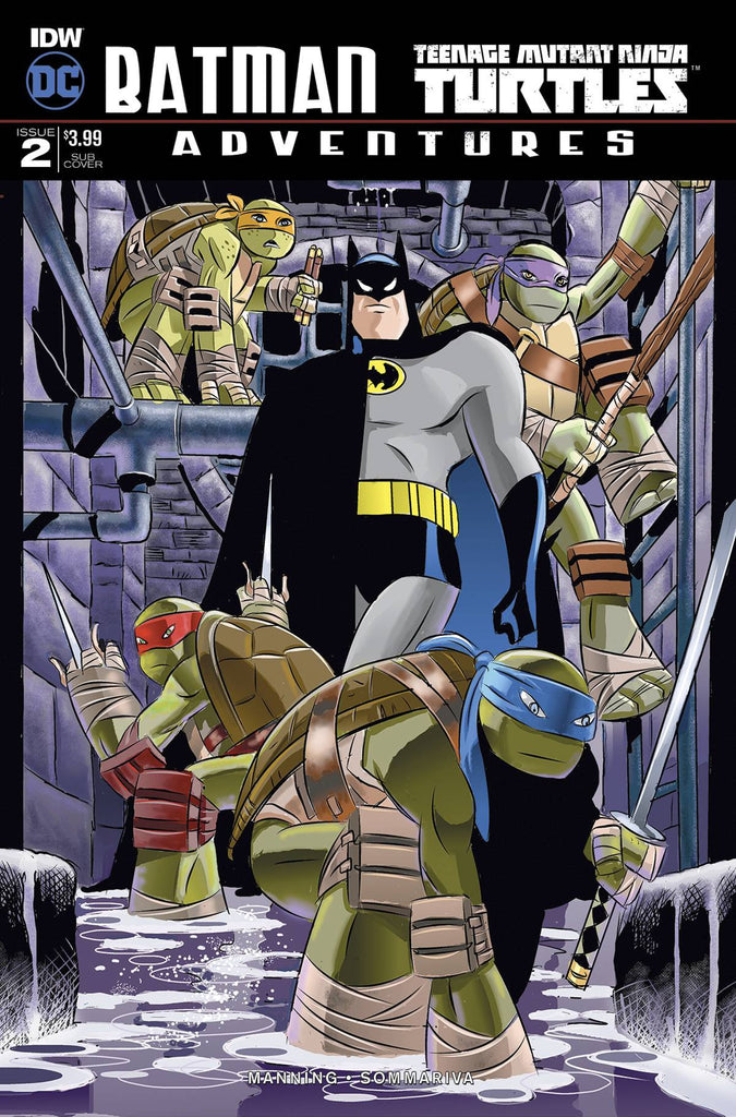 BATMAN TMNT ADVENTURES #2 (OF6) SUBSCRIPTION VAR A COVER