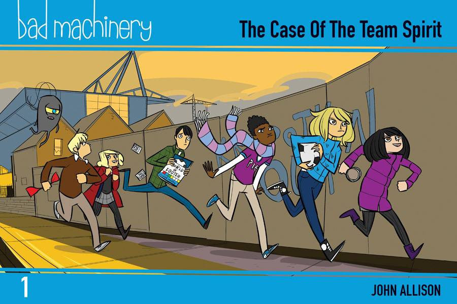 BAD MACHINERY GN VOL 01 POCKET ED COVER