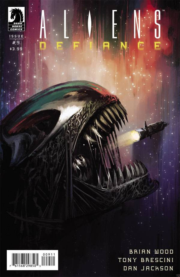 ALIENS DEFIANCE #9 COVER