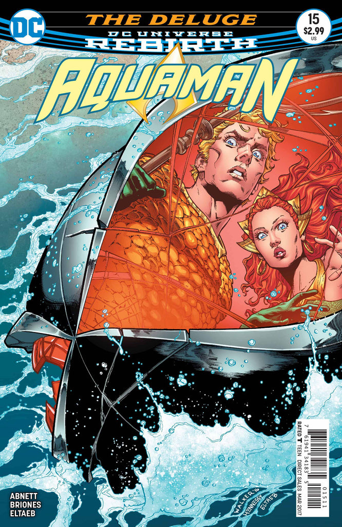 AQUAMAN #15 COVER