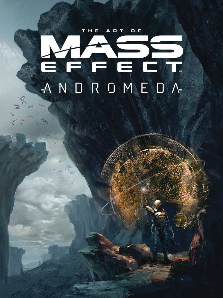 ART OF MASS EFFECT ANDROMEDA HC COVER