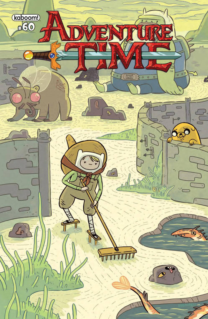 ADVENTURE TIME #60 COVER