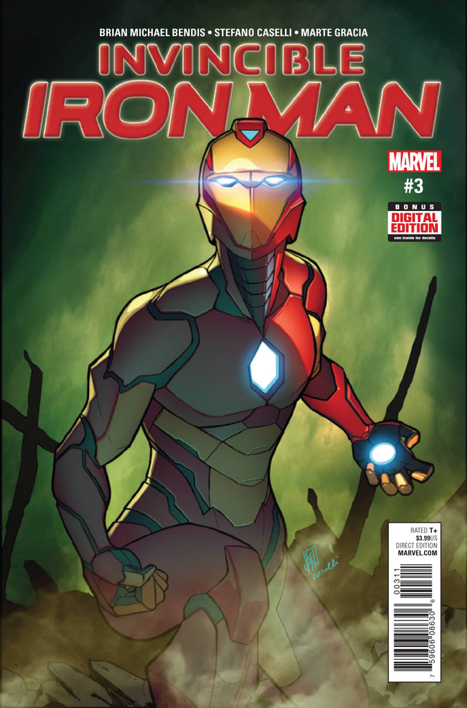 INVINCIBLE IRON MAN #3 COVER