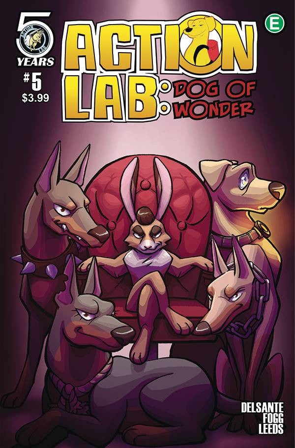 ACTION LAB DOG OF WONDER #5 CVR A LEEDS COVER