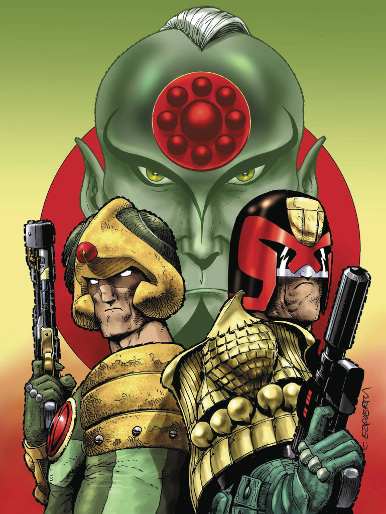 2000 AD 40TH ANNIVERSARY SPECIAL COVER