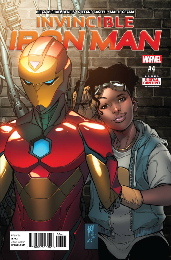 INVINCIBLE IRON MAN #4 COVER