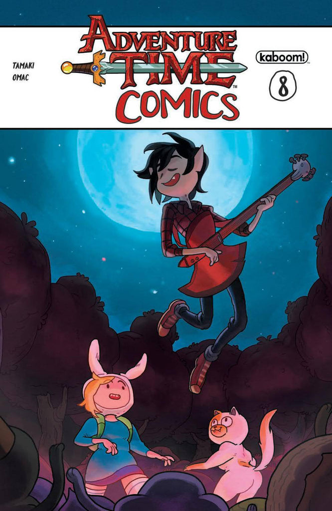 ADVENTURE TIME COMICS #8 COVER