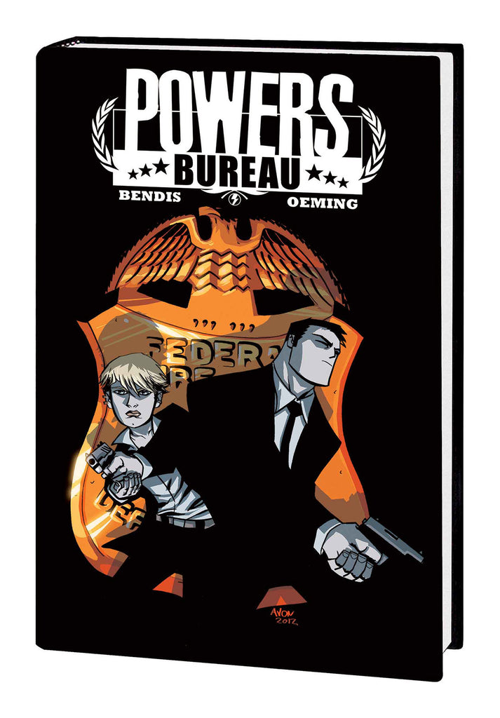POWERS DEFINITIVE HC COLLECTION VOL 07 BUREAU SAGA HC (MR) COVER