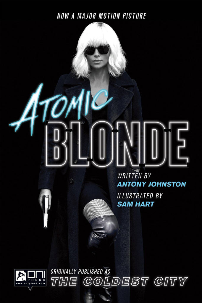ATOMIC BLONDE THE COLDEST CITY GN COVER