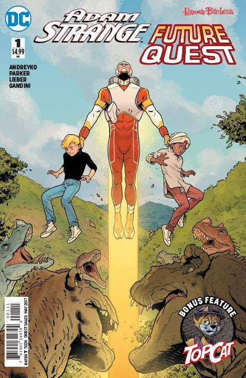 ADAM STRANGE FUTURE QUEST SPECIAL #1 COVER