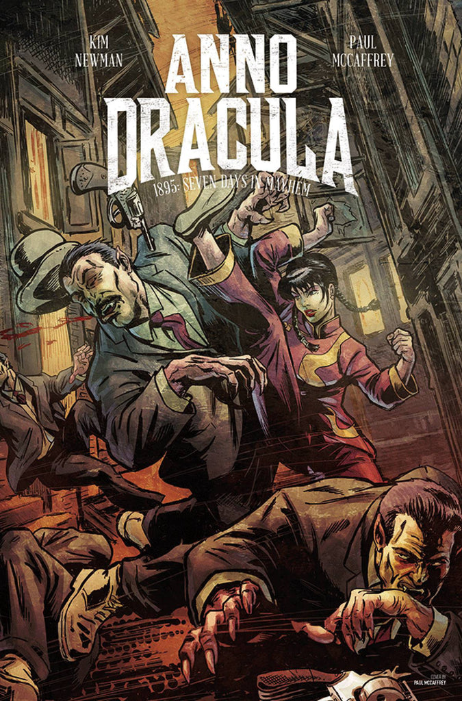 ANNO DRACULA #2 (OF 5) CVR A MANDRAKE (MR) COVER