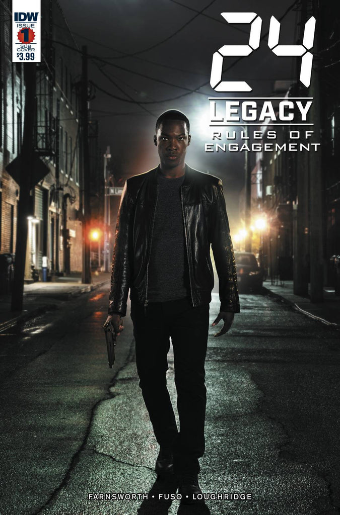24 LEGACY RULES OF ENGAGEMENT#1 (OF 5) SUBSCRIPTION VAR COVER