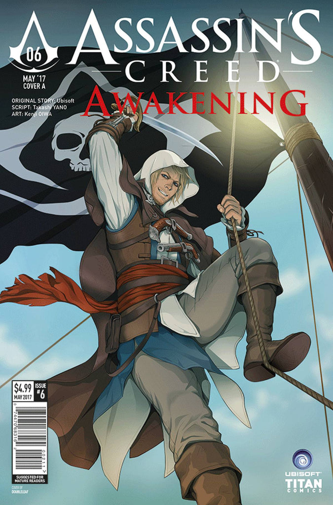 ASSASSINS CREED AWAKENING #6 (OF 6) CVR A DOUBLELEAF (MR) COVER