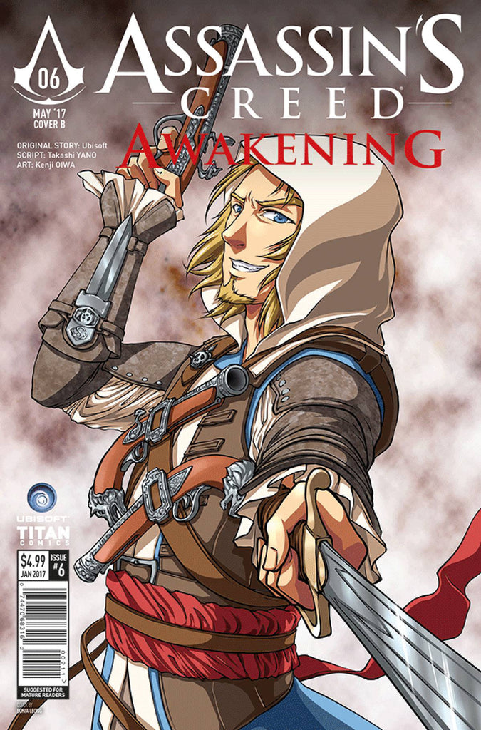 ASSASSINS CREED AWAKENING #6 (OF 6) CVR B LEONG (MR) COVER