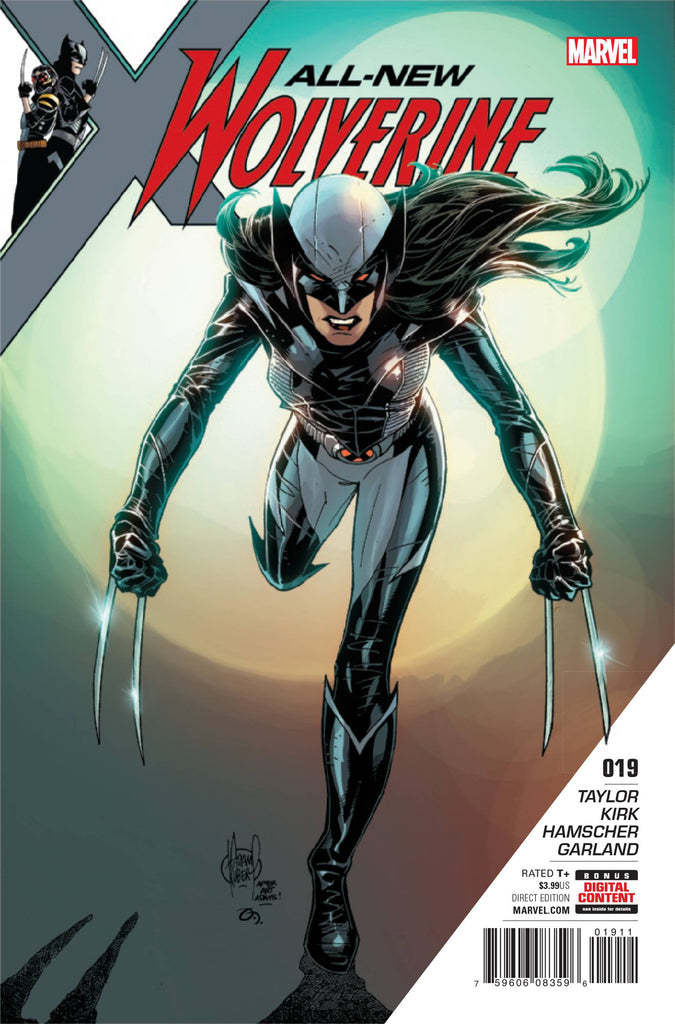 ALL NEW WOLVERINE #19 COVER