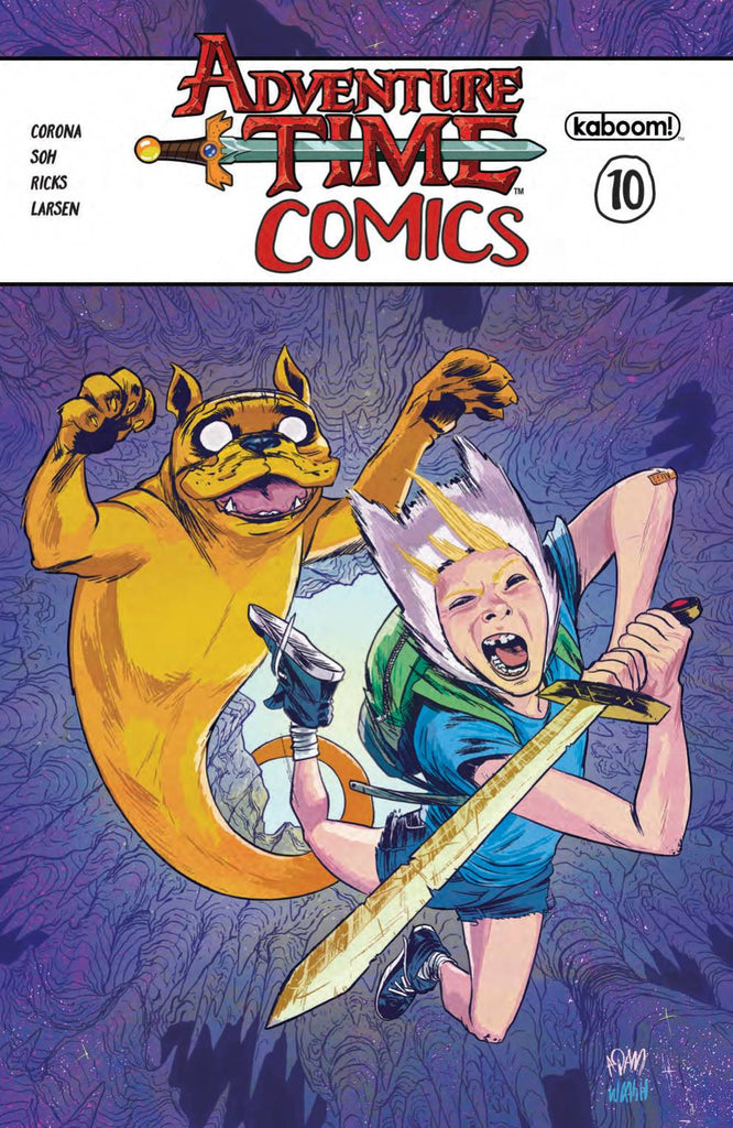 ADVENTURE TIME COMICS #10 CVRA GORHAM COVER
