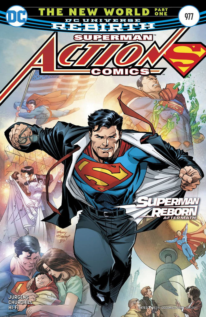 ACTION COMICS #977 COVER