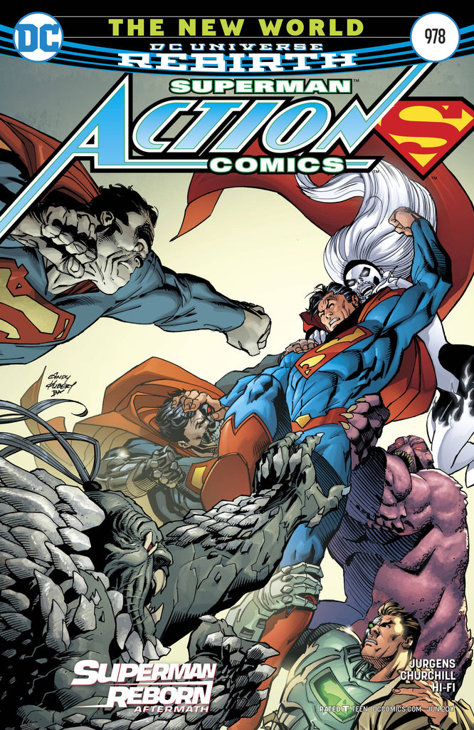 ACTION COMICS #978 COVER