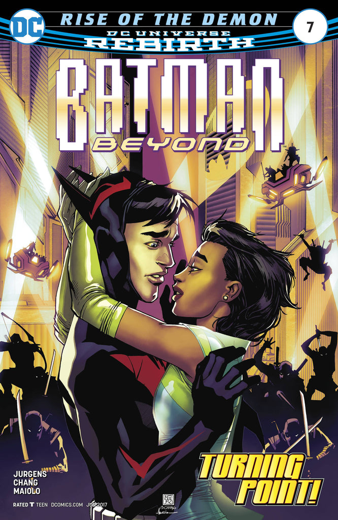 BATMAN BEYOND #7 COVER