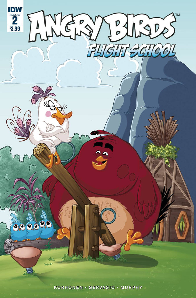 ANGRY BIRDS FLIGHT SCHOOL #2 COVER