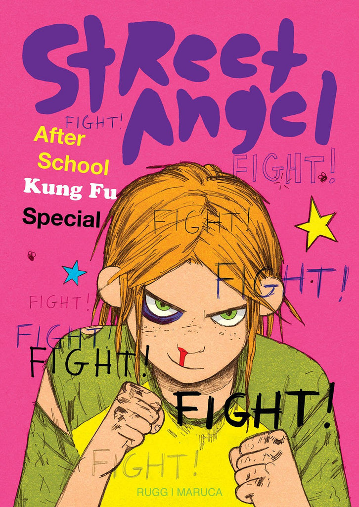 STREET ANGEL AFTER SCHOOL KUNG FU SPEC HC COVER