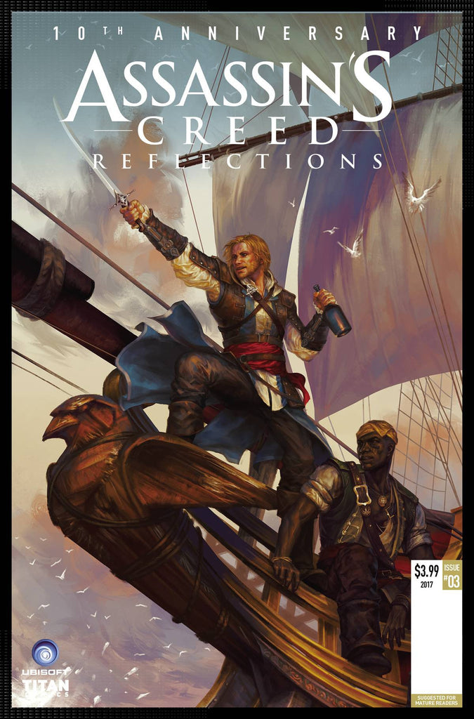 ASSASSINS CREED REFLECTIONS #3 (OF 4) CVR A SUNSET AGAIN (MR) COVER
