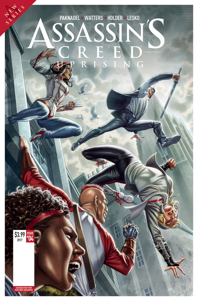 ASSASSINS CREED UPRISING #5 CVR A SANTUCCI COVER