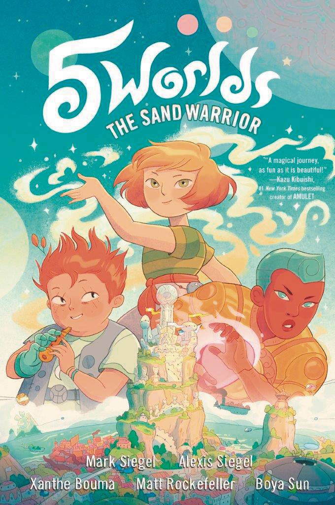 5 WORLDS GN VOL 01 SAND WARRIOR COVER