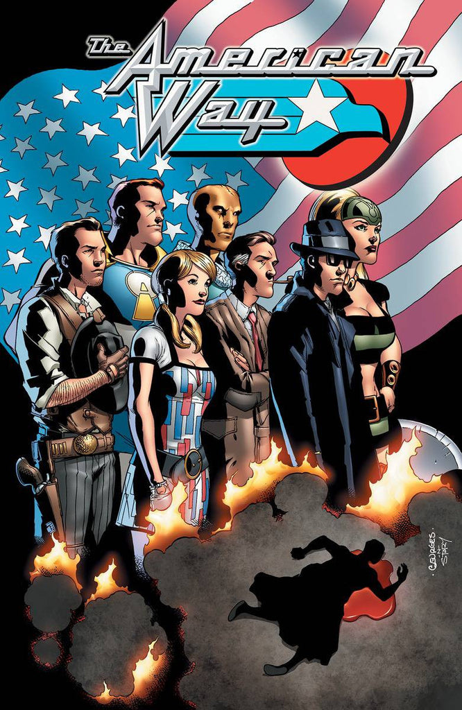 AMERICAN WAY 10TH ANNIVERSARY EDITION TP COVER