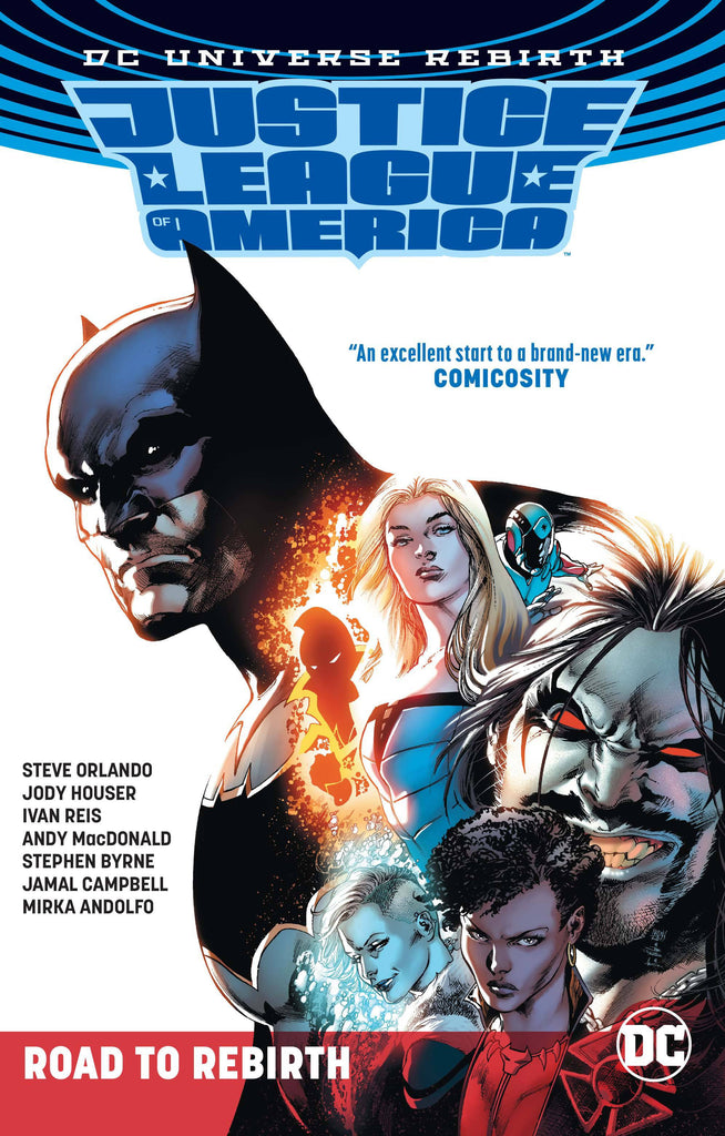 JUSTICE LEAGUE OF AMERICA THE ROAD TO REBIRTH TP COVER