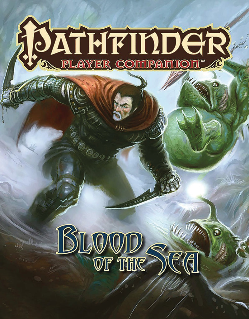 PATHFINDER PLAYER COMPANION BLOOD OF THE SEA SCCOVER