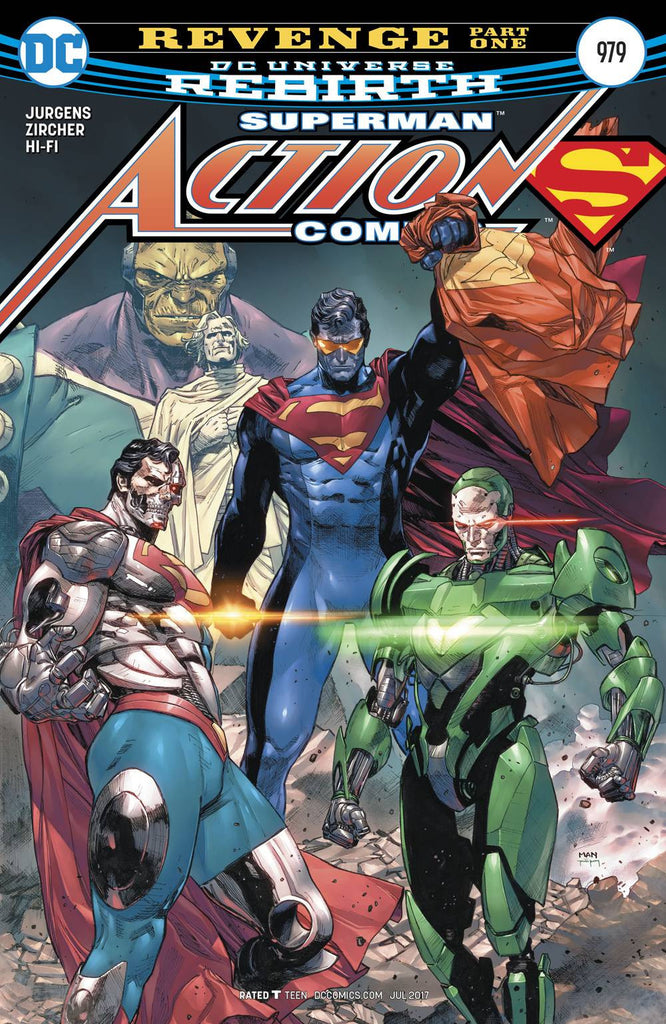 ACTION COMICS #979 COVER