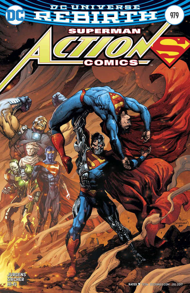 ACTION COMICS #979 VAR ED COVER