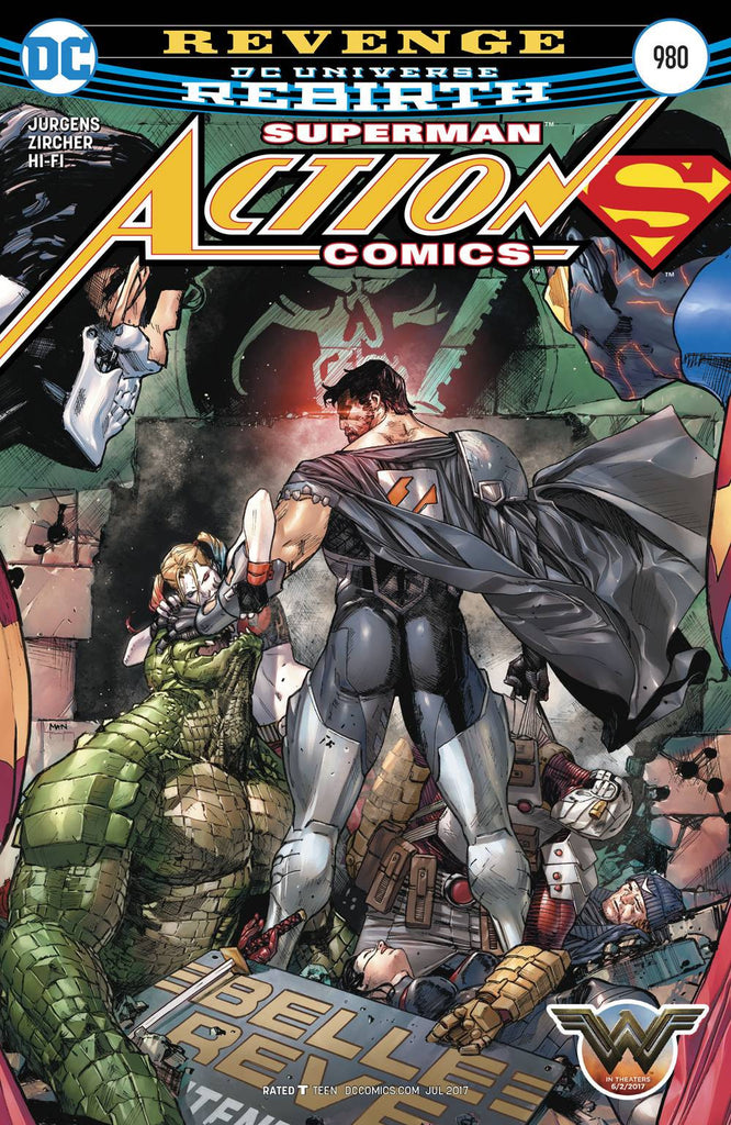 ACTION COMICS #980 COVER