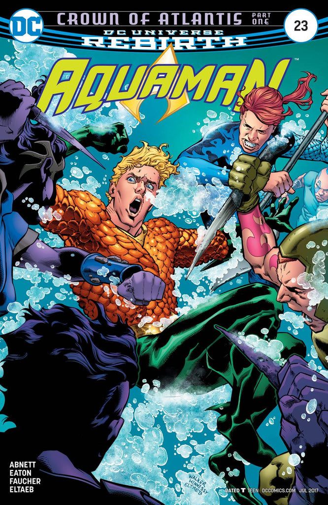 AQUAMAN #23 COVER
