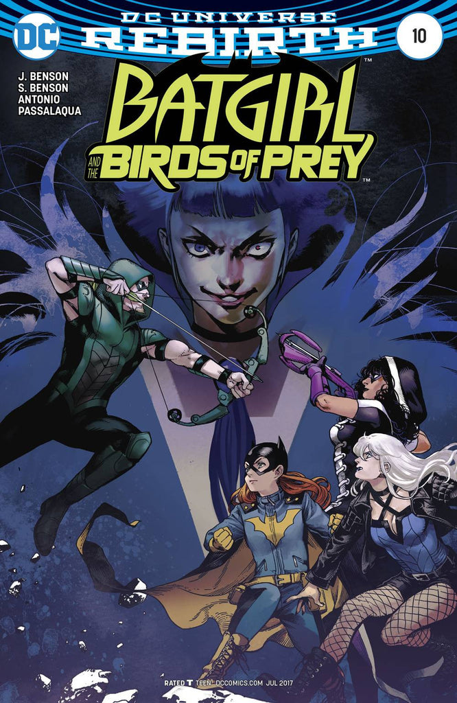 BATGIRL AND THE BIRDS OF PREY #10 VAR ED COVER