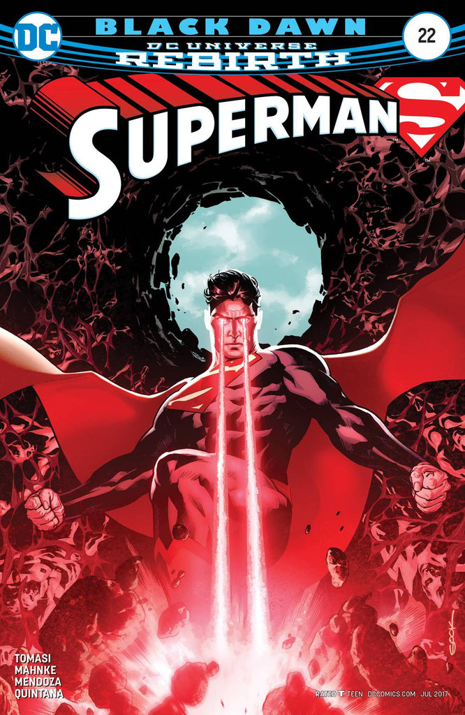 SUPERMAN #22 COVER