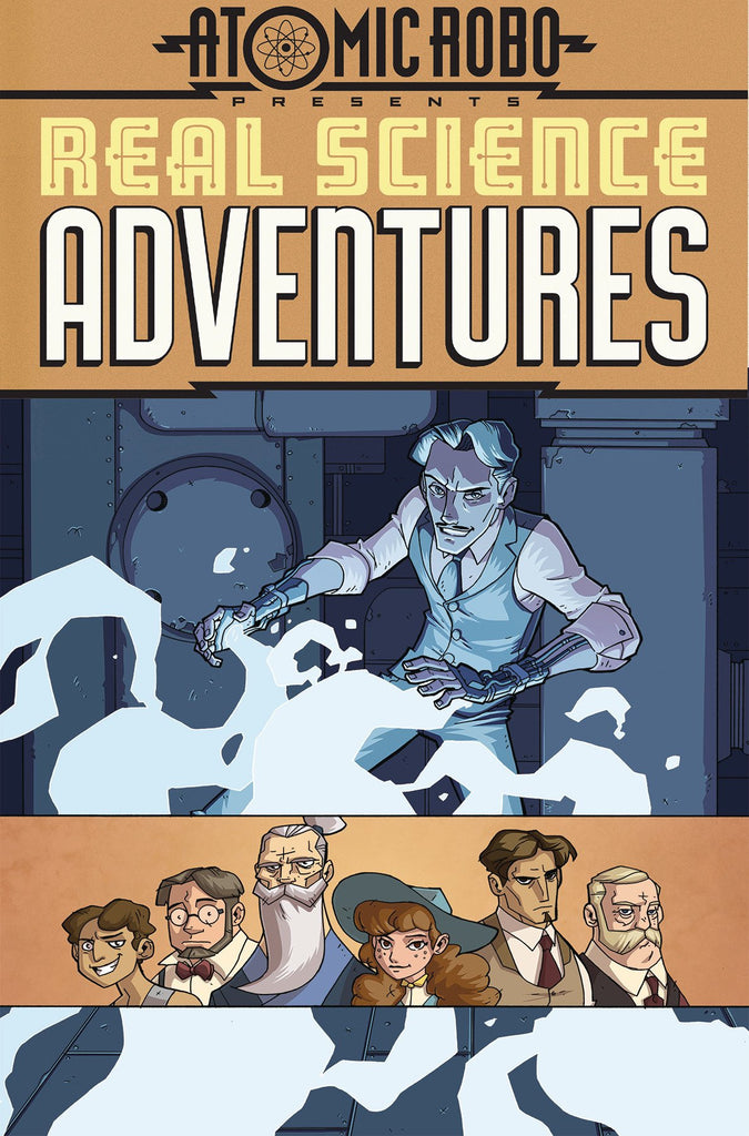 ATOMIC ROBO PRESENTS REAL SCIENCE ADVENTURES TP VOL 01 COVER