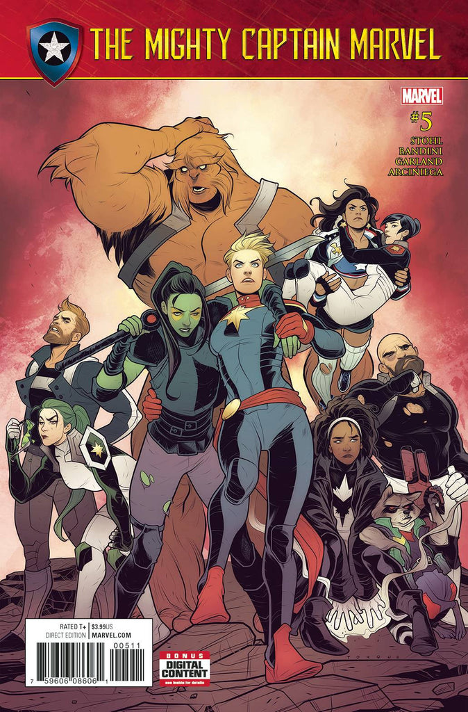 MIGHTY CAPTAIN MARVEL #5 SE COVER