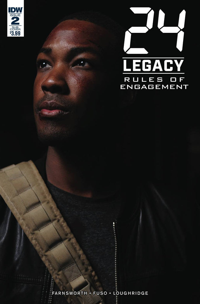 24 LEGACY RULES OF ENGAGEMENT #2 (OF 5) SUBSCRIPTION VAR COVER