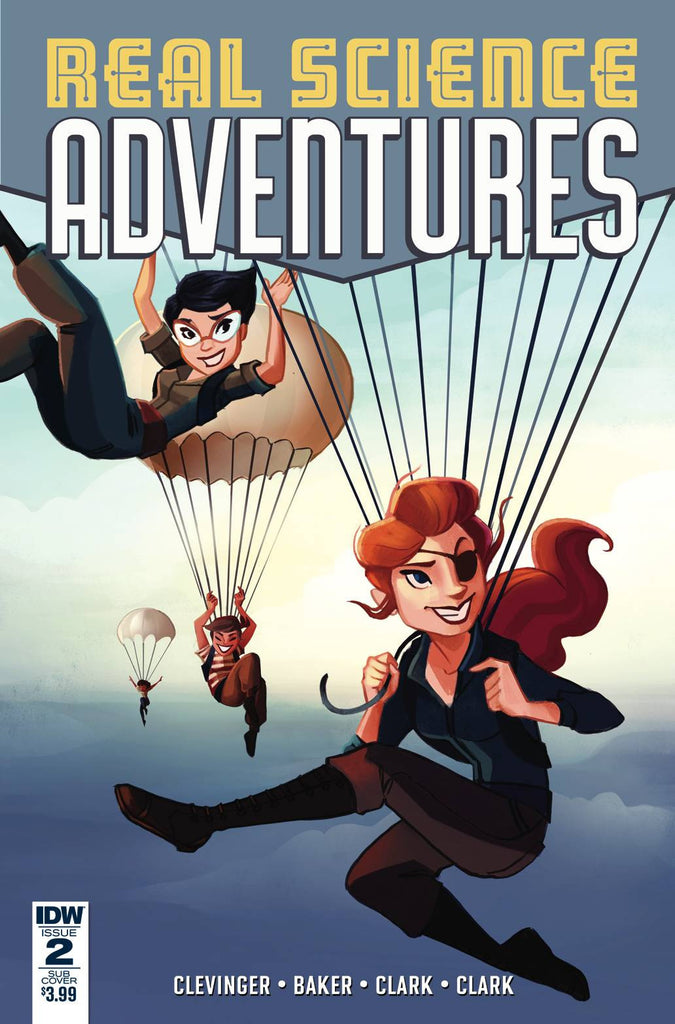 REAL SCIENCE ADVENTURES FLYING SHE-DEVILS #2 (OF 6) SUB COVER