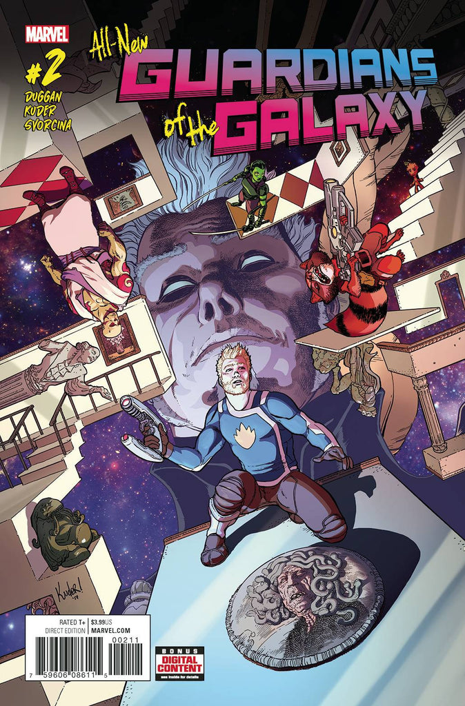 ALL NEW GUARDIANS OF GALAXY #2 COVER